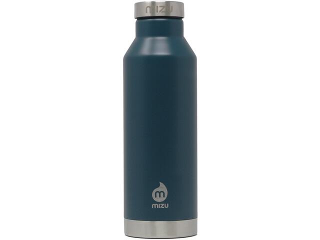 MIZU V6 Botella con Aislamiento con Tapa Acero Inoxidable 600ml, enduro midnight